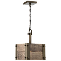 Winchester 1 Light 11 inch Bronze Pendant Ceiling Light