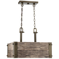 Winchester 4 Light 19 inch Bronze Pendant Ceiling Light