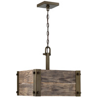 Winchester 4 Light 15 inch Bronze Pendant Ceiling Light