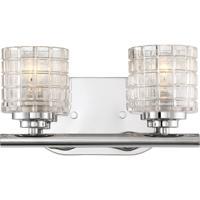 Nuvo 60/6442 Votive 2 Light 11 inch Polished Nickel Vanity Light Wall Light