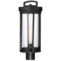 Nuvo 60/6503 Huron 1 Light 21 inch Aged Bronze and Glass Post Lantern