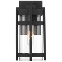 Nuvo 60/6571 Tofino 1 Light 5 inch Textured Black Outdoor Lantern Small
