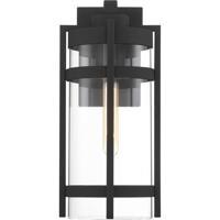Nuvo 60/6573 Tofino 1 Light 7 inch Textured Black Outdoor Lantern Large