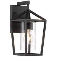 Nuvo 60/6591 Hopewell 1 Light 6 inch Matte Black Outdoor Lantern Small