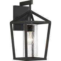 Nuvo 60/6592 Hopewell 1 Light 8 inch Matte Black Outdoor Lantern Medium