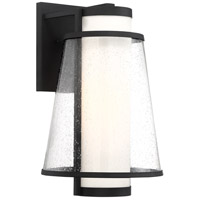 Nuvo 60/6603 Anau 1 Light 11 inch Matte Black Outdoor Lantern Large