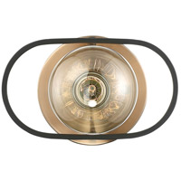 Nuvo 60/6651 Chassis 1 Light 8 inch Copper Brushed Brass Wall Sconce Wall Light alternative photo thumbnail