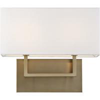 Nuvo 60/6717 Tribeca 2 Light 14 inch Burnished Brass Vanity Light Wall Light