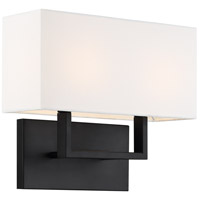 Nuvo 60/6719 Tribeca 2 Light 14 inch Aged Bronze Bathroom Vanity Wall Light