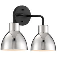 Nuvo 60/6772 Sloan 2 Light 14 inch Matte Black Bathroom Vanity Wall Light
