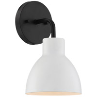 Nuvo 60/6784 Sloan 1 Light 6 inch Matte Black Bathroom Vanity Wall Light