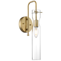 Nuvo 60/6855 Spyglass 1 Light 5 inch Vintage Brass Vanity Light Wall Light