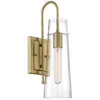 Nuvo 60/6859 Alondra 1 Light 5 inch Vintage Brass Vanity Light Wall Light