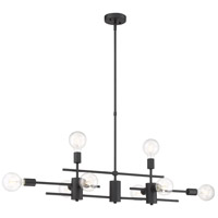 Nuvo 60/6862 Delphi 8 Light 7 inch Mahogany Bronze Pendant Ceiling Light