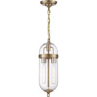 Nuvo 60/6912 Fathom 2 Light 6 inch Vintage Brass Pendant Ceiling Light