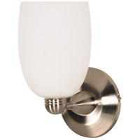 Nuvo Lighting Signature 1 Light Vanity & Wall in Brushed Nickel 60/692