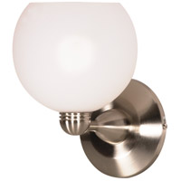 Nuvo Lighting Signature 1 Light Vanity & Wall in Brushed Nickel 60/695