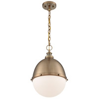 Nuvo 60/7039 Ronan 1 Light 13 inch Burnished Brass Pendant Ceiling Light