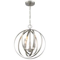 Nuvo 60/7047 Pendleton 3 Light 16 inch Brushed Nickel Pendant Ceiling Light