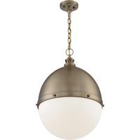 Nuvo 60/7049 Ronan 1 Light 18 inch Burnished Brass Pendant Ceiling Light