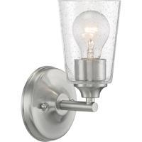 Nuvo 60/7181 Bransel 1 Light 5 inch Brushed Nickel Vanity Light Wall Light