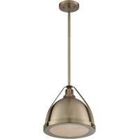 Nuvo 60/7202 Barbett 1 Light 13 inch Burnished Brass Pendant Ceiling Light