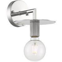 Nuvo 60/7251 Bizet 1 Light 7 inch Polished Nickel Vanity Light Wall Light