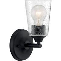 Nuvo 60/7281 Bransel 1 Light 5 inch Matte Black Vanity Light Wall Light