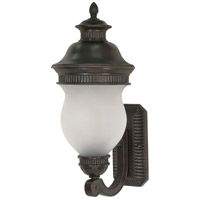 Nuvo Lighting Luxor 2 Light Outdoor Wall Lantern in Chestnut Bronze 60/875