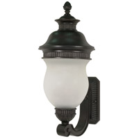 Nuvo Lighting Luxor 3 Light Outdoor Wall Lantern in Chestnut Bronze 60/877