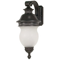 Nuvo Lighting Luxor 3 Light Outdoor Wall Lantern in Chestnut Bronze 60/879