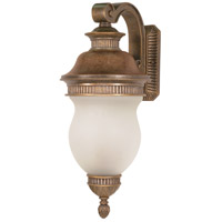 Nuvo Lighting Luxor 3 Light Outdoor Wall in Platinum Gold 60/880