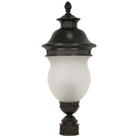 Nuvo Lighting Luxor 3 Light Outdoor Post Lantern in Chestnut Bronze 60/883