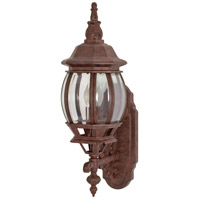 Nuvo 60/886 Central Park 1 Light 20 inch Old Bronze Outdoor Wall Lantern