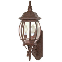 Nuvo 60/889 Central Park 3 Light 23 inch Old Bronze Outdoor Wall Lantern