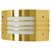 Nuvo Lighting Signature 1 Light Vanity & Wall in Brushed Brass 60/937