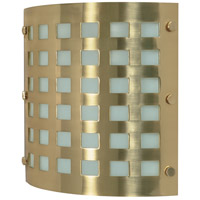 Nuvo Lighting Signature 2 Light Vanity & Wall in Brushed Brass 60/941