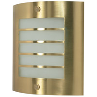 Nuvo Lighting Signature 1 Light Vanity & Wall in Brushed Brass 60/945
