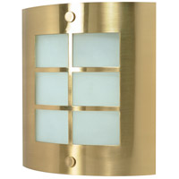 Nuvo Lighting Signature 1 Light Vanity & Wall in Brushed Brass 60/947