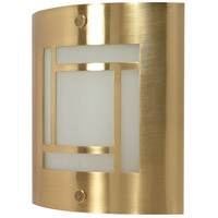 Nuvo 60/949 Signature 1 Light Brushed Brass Vanity & Wall Wall Light photo thumbnail