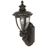 Nuvo Lighting Galeon 1 Light Outdoor Wall Lantern in Old Penny Bronze 60/950 photo thumbnail
