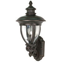 Nuvo Lighting Galeon 3 Light Outdoor Wall Lantern in Old Penny Bronze 60/954 photo thumbnail