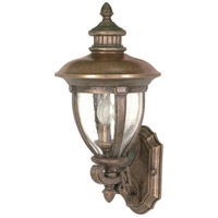 Nuvo Lighting Galeon 3 Light Outdoor Wall Lantern in Platinum Gold 60/955 photo thumbnail