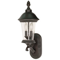 Nuvo Lighting Clarion 3 Light Outdoor Wall Lantern in Chestnut Bronze 60/962 photo thumbnail