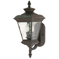 Nuvo Lighting Charter 2 Light Outdoor Wall Lantern in Old Penny Bronze 60/972 photo thumbnail