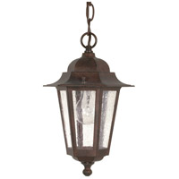 Nuvo Lighting Cornerstone 1 Light Outdoor Hanging Lantern in Old Bronze 60/992