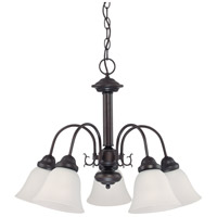 Nuvo 62/1015 Ballerina LED 24 inch Mahogany Bronze Chandelier Ceiling Light