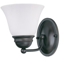 Empire 1 Light 6 inch Mahogany Bronze Vanity Light Wall Light