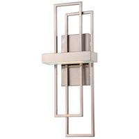 Nuvo 62/105 Frame LED 8 inch Brushed Nickel Wall Sconce Wall Light