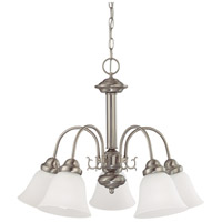 Nuvo 62/1115 Ballerina 5 Light 24 inch Brushed Nickel Chandelier Ceiling Light